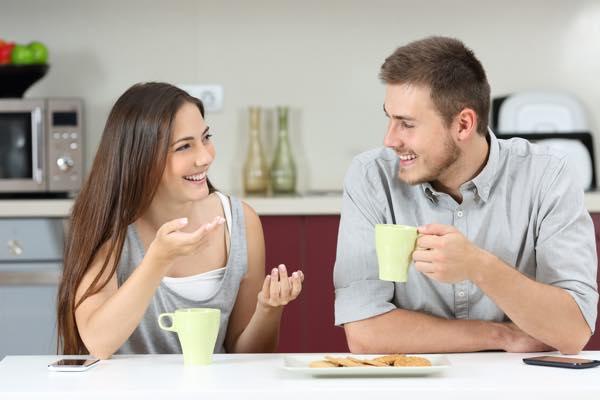 Dybe gode samtaler i parforholdet - Parterapeut Nørrebro - Dialog og empatisk kommunikation i parforholdet