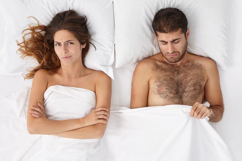 Mænds manglende sexlyst - Hvorfor har han ikke lyst til sex?