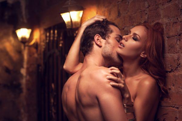 Sexfantasier om offentlig sex