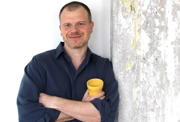 Terapeut Holger Spanggaard med kop