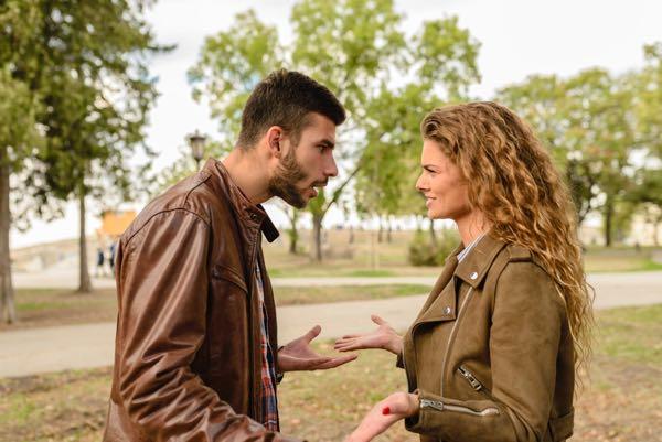 Skænderi med kæresten i parforholdet